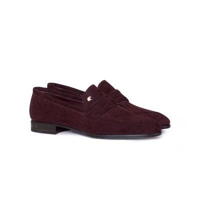 Suede loafers Colour: R015 Size: 10