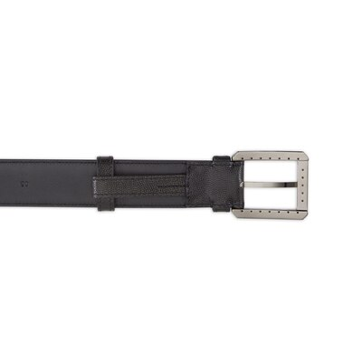Handmade calfskin leather belt Colour: N999 Size: 120