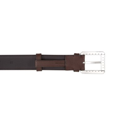 Handmade calfskin leather belt Colour: M033 Size: 115