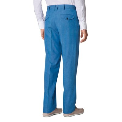 Tailored denim trousers EX1751_002 Size: 50