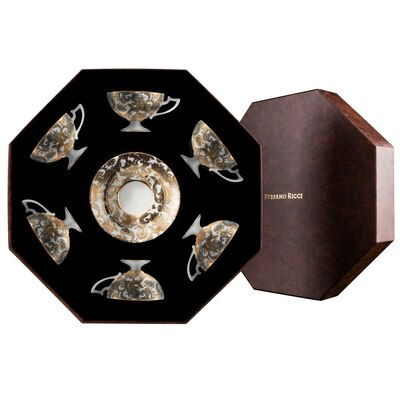 Teacups gift box imperial botticelli Colour: 9016 Size: One Size