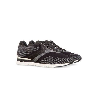 Trainers in fabric and crocodile N999 Size: 10