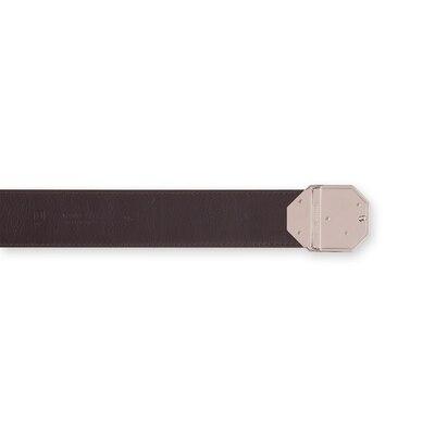 Handmade embossed calfskin belt Colour: M019 Size: 90