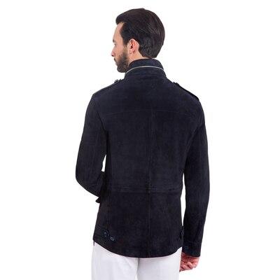 Suede field jacket B013 Size: 56