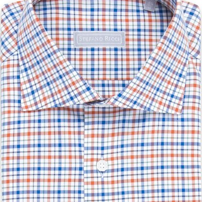 Handmade salerno shirt Colour: L1826_003 Size: 41