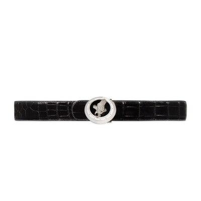 Handmade crocodile belt Colour: N999 Size: 105