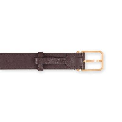 Handmade crocodile belt Colour: M022 Size: 95