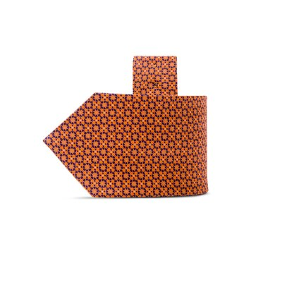 Hand printed silk tie 27029_009 Size: One Size