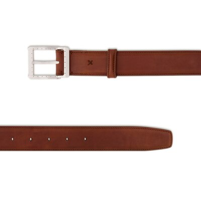 Handmade calfskin belt Colour: M034 Size: 80