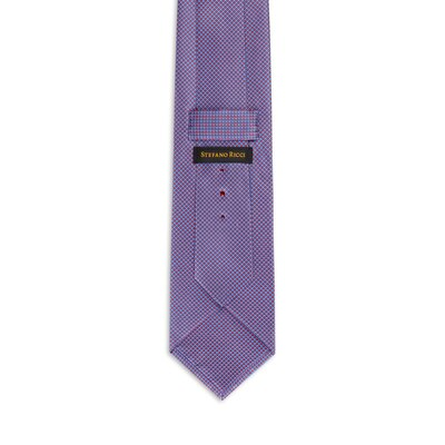 Hand printed silk tie Colour: 27062_002 Size: One Size