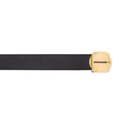 Handmade calfskin leather belt Colour: N999 Size: 110
