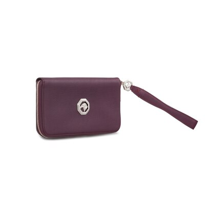 Handmade calfskin travel wallet Colour: R005 Size: One Size