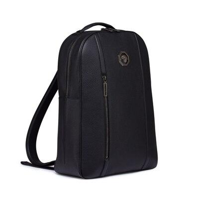 Handmade calfskin leather backpack N999 Size: One Size