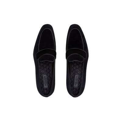 Velvet dress shoes Colour: N999 Size: 11