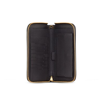 Handmade calfskin travel wallet 9005 Size: One Size