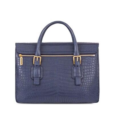 Handmade crocodile briefcase 5013 Size: One Size