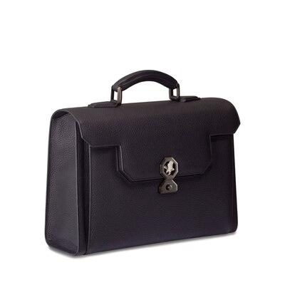 Handmade calfskin briefcase N999 Size: One Size