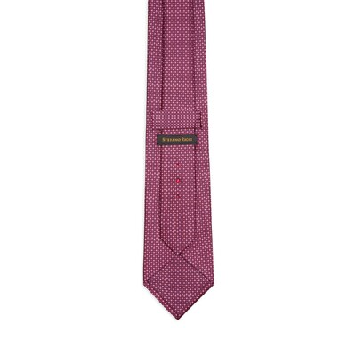 Hand printed silk tie 25051_006 Size: One Size