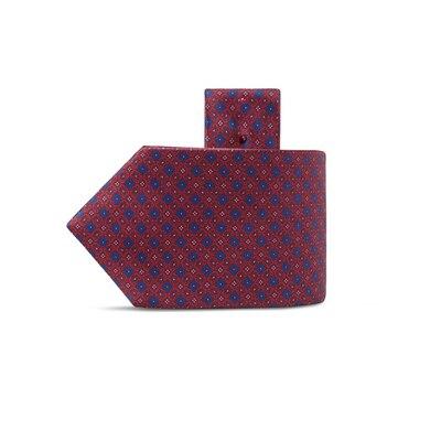Cravatta luxury in seta stampata a mano Colore: 25004_002 Taglia: One Size