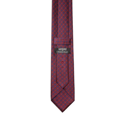 Luxury hand printed silk tie Colour: 25004_002 Size: One Size