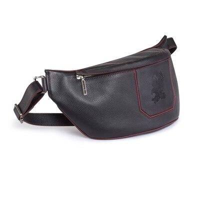 Handmade Calfskin Messenger Bag NR01 Size: One Size