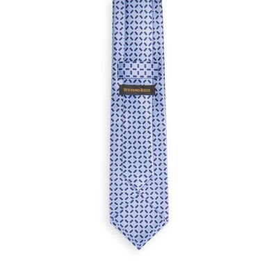 Hand printed silk tie Colour: 27038_001 Size: One Size