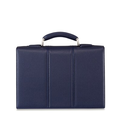 Handmade woven calfskin briefcase B013 Size: One Size
