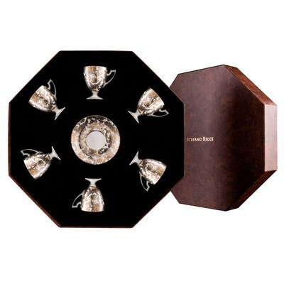 Coffee cups gift box imperial botticelli Colour: 9016 Size: One Size