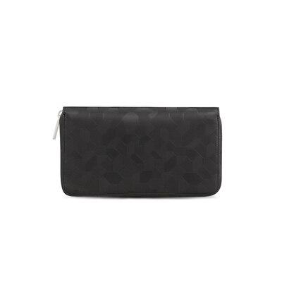 Handmade embossed calfskin wallet N999 Size: One Size