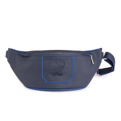 Handmade Calfskin Messenger Bag BB02 Size: One Size