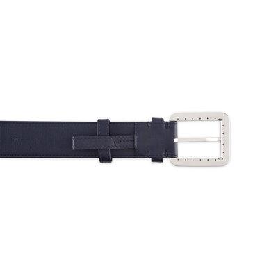 Cintura fatta a mano in pelle di vitello Colore: B013 Taglia: 90