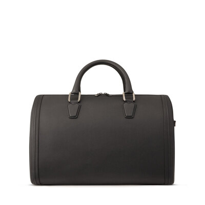 Handmade Calfskin Boston Bag Colour: N999 Size: One Size