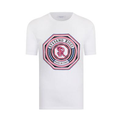 """T-shirt girocollo """"marina"""" Colore: W000 Taglia: 3XL"""