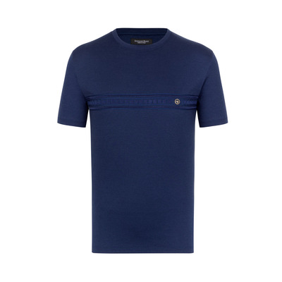 Greek crew neck T-shirt Colour: B001 Size: 5XL