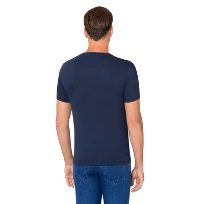 T-shirt girocollo con greca