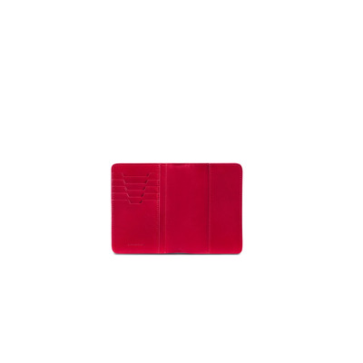 Crocodile Leather Passport Holder Colour: R020 Size: One Size