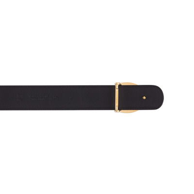 Matted Crocodile Leather Belt Colour: N999 Size: 85