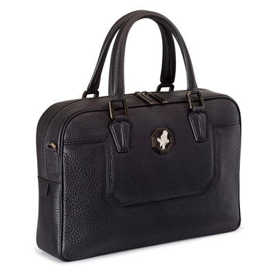 Calfskin leather business bag Colour: N999 Size: One Size