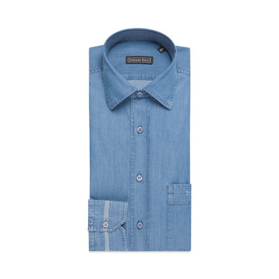 Camicia Rust fatta a mano Colore: EX1906_003 Taglia: 43