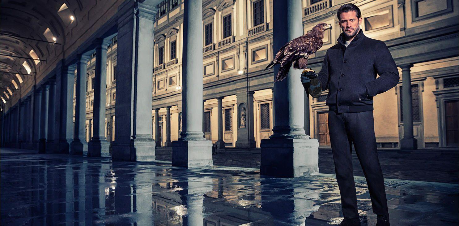 Stefano Ricci eleganza italiana sfondo Firenze
