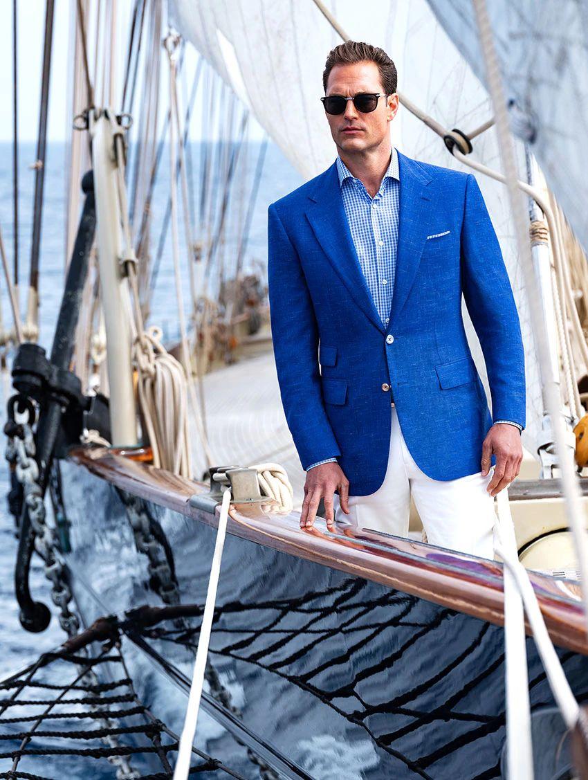 Stefano Ricci completo da barca